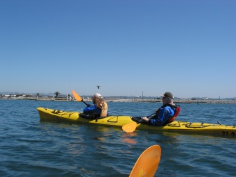 Felicia and Jim Kayaking in the Elkhorn Slough