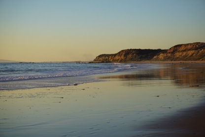Crystal Cove Beach Near Sunset