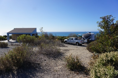 View From Crystal Cove Campsite