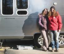 Alex and Felicia at Barton Flats Campsite 38