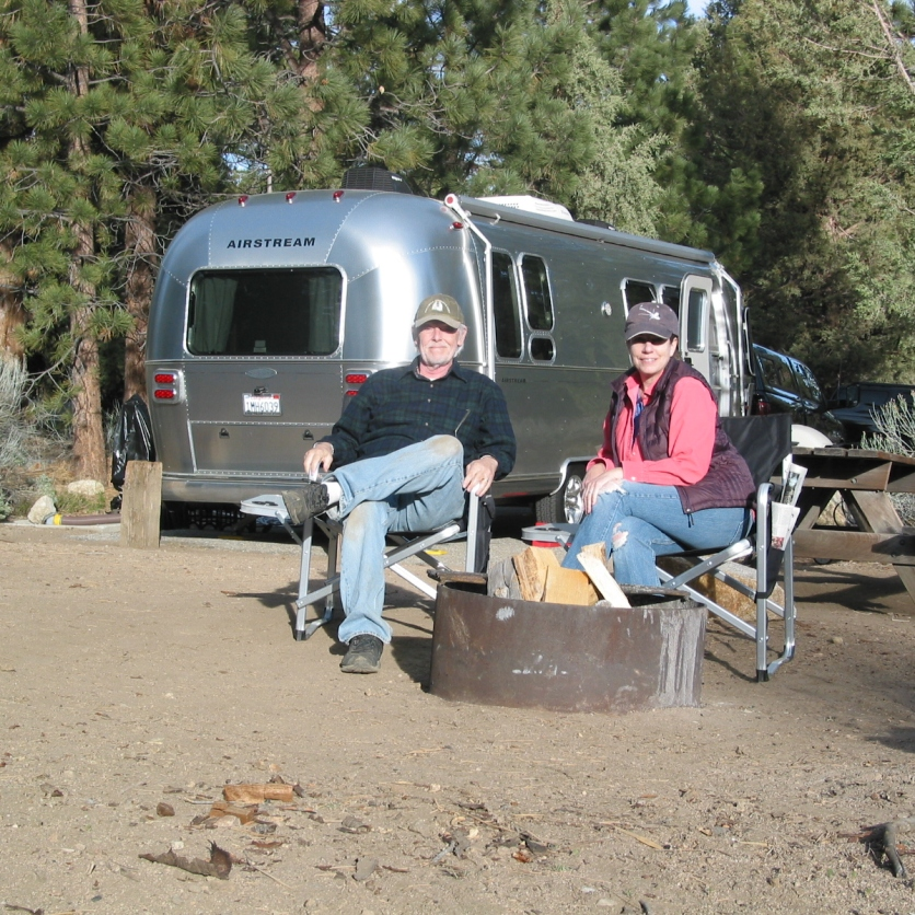Alex and Jim at Serrano Campground