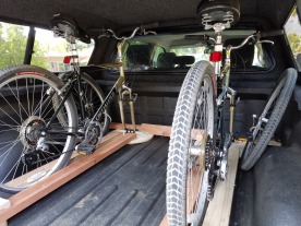 Home-Made Bike Rack