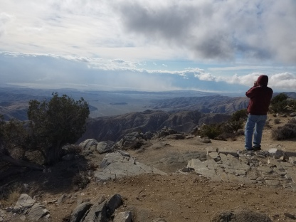 Jim at Keys View