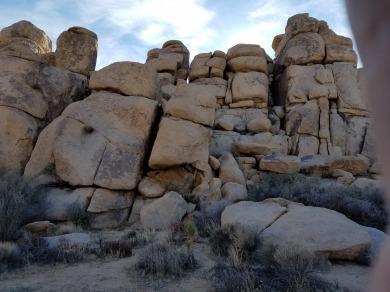 Rock Wall At Cap Rock