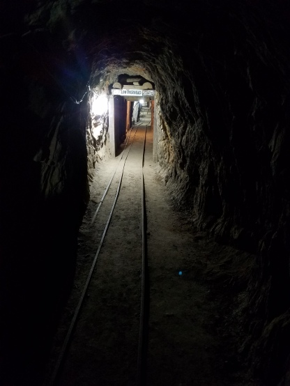Exiting mine