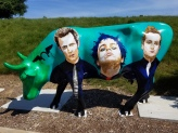Green Day Cow