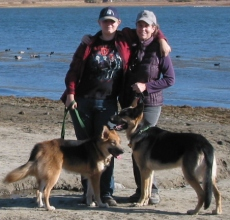 Alex Felica Dogs Big Bear Lake for blog profile
