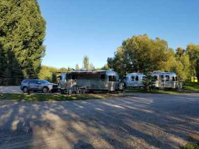 Our Airstreams at Aspen Grove Inn