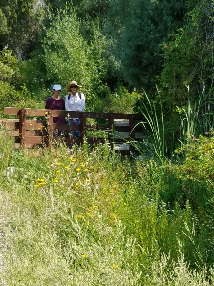 Cress Creek Trail - Carol and Alexandra