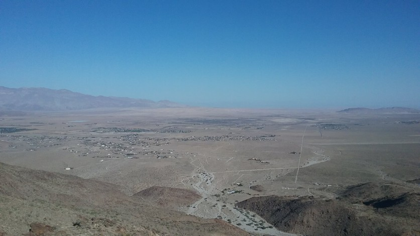 View of valley from overlook