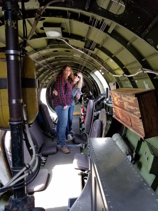 B-17 interior