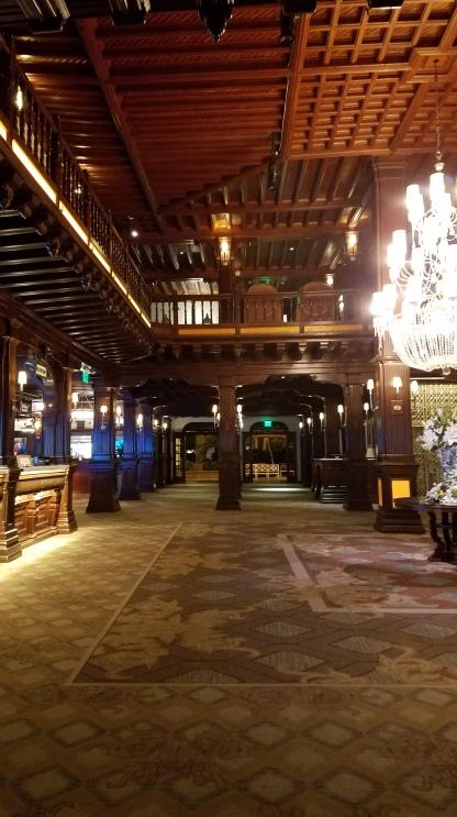 Empty Lobby late at night