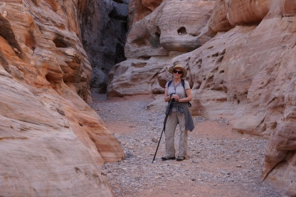 Slot Canyon - White Domes Trail