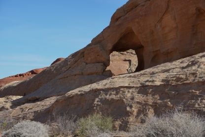 Arch Rock - White Domes Trail